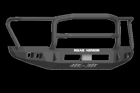 Road Armor - Road Armor 6171F5B-NW Stealth Front Non-Winch Bumper Lonestar Guard Ford F250/F350 2017-2018