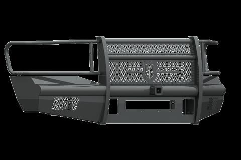 """Road Armor - Road Armor 406VF26B Vaquero Front Non-Winch Bumper Full Guard with 2"""" Receiver Dodge RAM 2500/3500 2006-2009"""