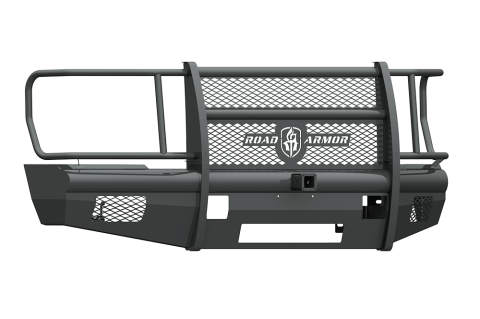 "Road Armor - Road Armor 608VF26B Vaquero Front Non-Winch Bumper Full Guard with 2"" Receiver Ford F250/F350 2008-2010"