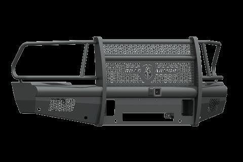 """Road Armor - Road Armor 410VF26B Vaquero Front Non-Winch Bumper Full Guard with 2"""" Receiver Dodge RAM 2500/3500 2010-2018"""