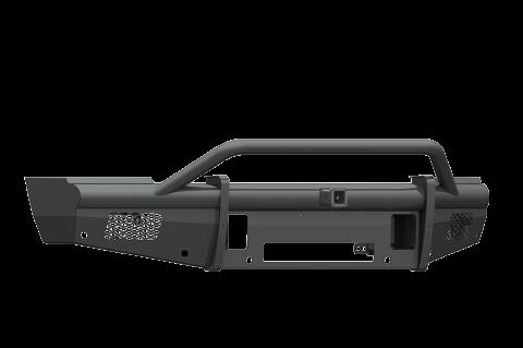 """Road Armor - Road Armor 410VF24B Vaquero Front Non-Winch Bumper Pre-Runner Guard with 2"""" Receiver Dodge RAM 2500/3500 2010-2018"""