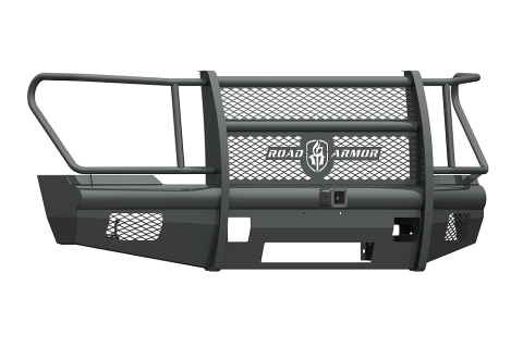 "Road Armor - Road Armor 611VF26B Vaquero Front Non-Winch Bumper Full Guard with 2"" Receiver Ford F250/F350 2011-2016"
