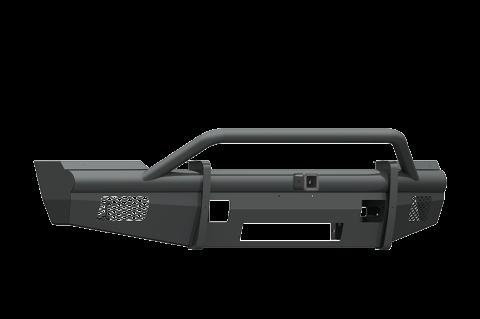 """Road Armor - Road Armor 611VF24B Vaquero Front Non-Winch Bumper Pre-Runner Guard with 2"""" Receiver Ford F250/F350 2011-2016"""