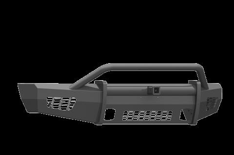 """Road Armor - Road Armor 615VF24B Vaquero Front Non-Winch Bumper Pre-Runner Guard with 2"""" Receiver Ford F150 2015-2017"""
