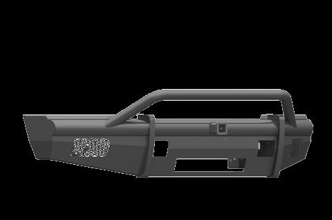 """Road Armor - Road Armor 617VF24B Vaquero Front Non-Winch Bumper Pre-Runner Guard with 2"""" Receiver Ford F250/F350 2017-2018"""