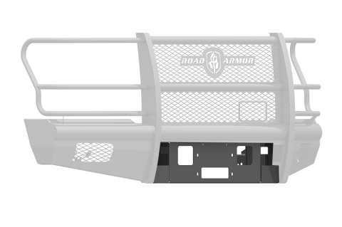 Road Armor - Road Armor 617V-WP Vaquero Front Winch Plate Ford F250/F350 2017-2018