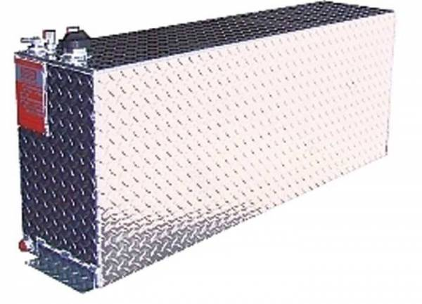 "Aluminum Tank Industries - ATI AUX30RG Rectangular 30 Gallon Gas Auxiliary Tank 9 x 48"" x 19"