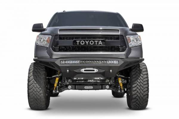 Addictive Desert Designs - ADD F741202860103 Stealth Fighter Winch Front Bumper Toyota Tundra 2014-2018