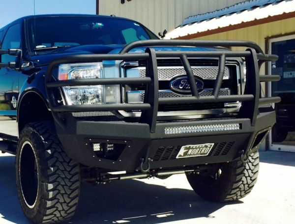 Bodyguard - Bodyguard T2FEF172X Extreme T2 Series Front Bumper Ford F250/F350 2017-2018