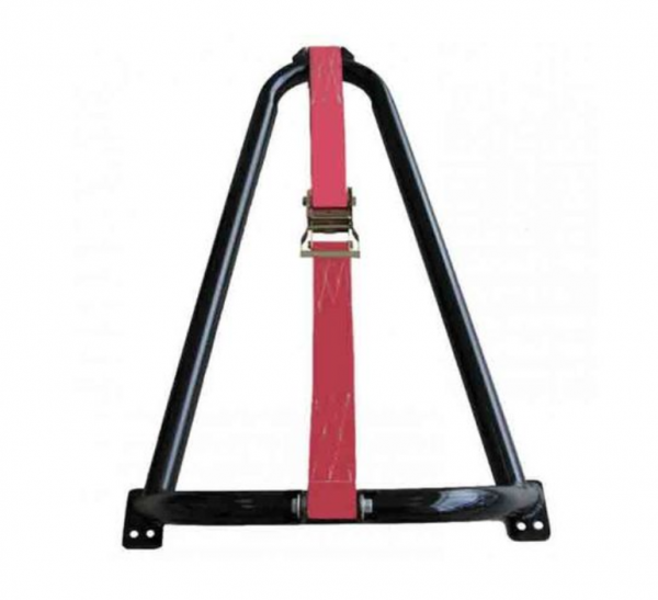 N-Fab - N-Fab BM1TCRD Bed Mounted Tire Carrier with Red Strap