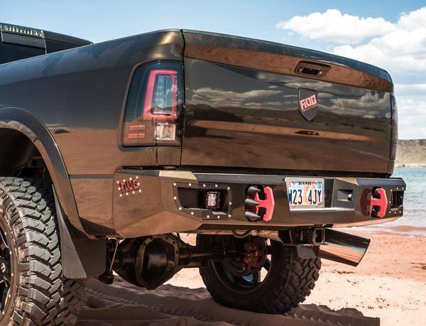 Flog Industries - Flog Industries FISD-D2535-1018R Rear Bumper Dodge RAM 2500/3500 2010-2018