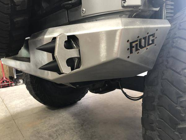 Flog Industries - Flog Industries FISD-JJK-0718R Rear Bumper Jeep Wrangler JK 2007-2018