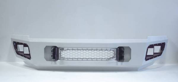 Flog Industries - Flog Industries FISD-G2535-0811F-S Front Bumper with Sensor Holes GMC Sierra 2500HD/3500 2007-2010