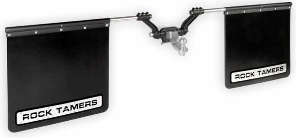 "Rock Tamers - Rock Tamers 00110 Adjustable Mud Flap System for 2.5"" Receiver"