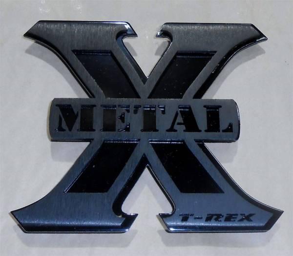 T-Rex Grilles - T-Rex Grilles 6710016 X-Metal Series Logo Badge