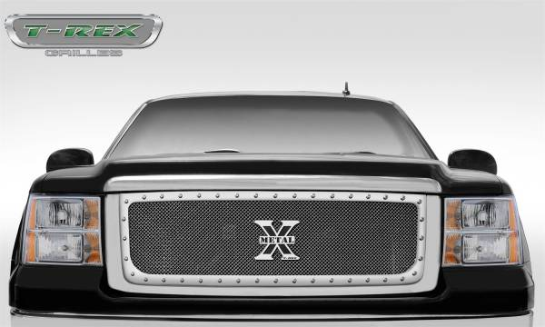 T-Rex Grilles - T-Rex Grilles 6712060 X-Metal Series Studded Mesh Grille