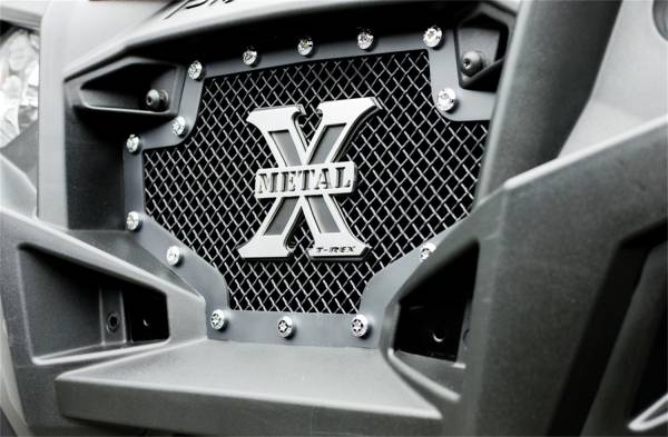T-Rex Grilles - T-Rex Grilles 6719001 X-Metal Series Studded Mesh Grille