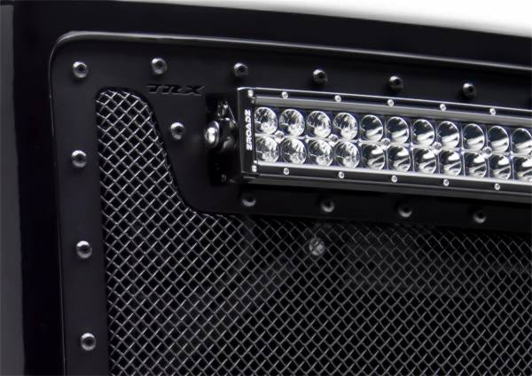 T-Rex Grilles - T-Rex Grilles 6710511-BR Stealth X-Metal Series Mesh Grille Assembly