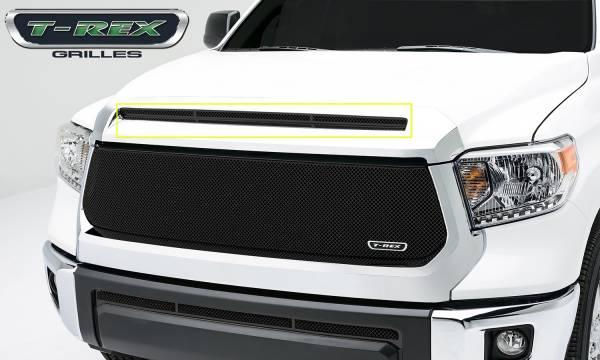 T-Rex Grilles - T-Rex Grilles 119640 T1 Series Grille Hood Overlay