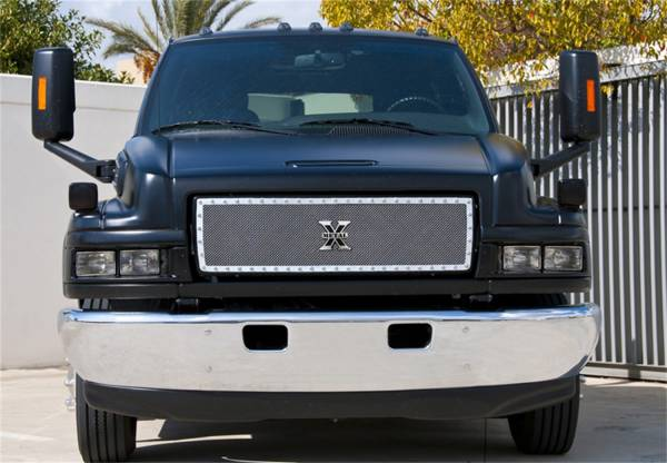 T-Rex Grilles - T-Rex Grilles 6710870 X-Metal Series Studded Mesh Grille