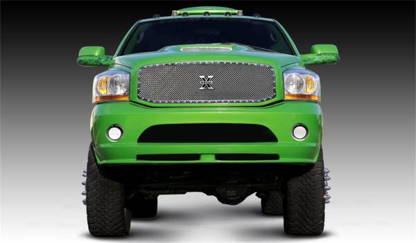 T-Rex Grilles - T-Rex Grilles 6714590 X-Metal Series Studded Mesh Grille