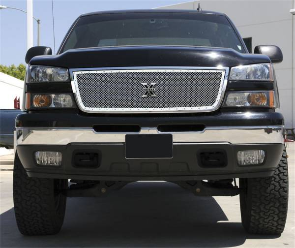 T-Rex Grilles - T-Rex Grilles 6711070 X-Metal Series Studded Mesh Grille