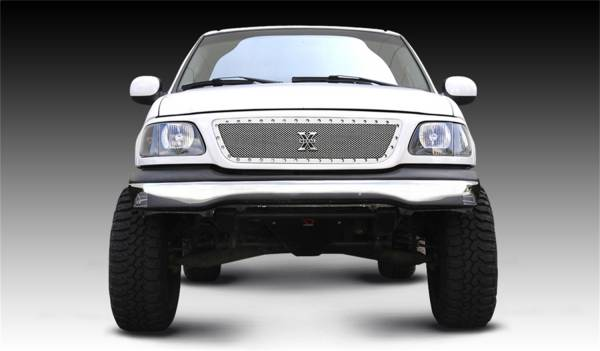 T-Rex Grilles - T-Rex Grilles 6715800 X-Metal Series Studded Mesh Grille