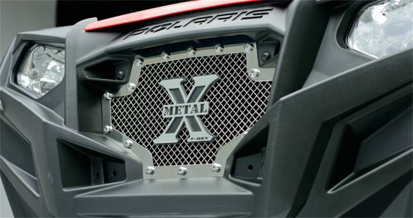 T-Rex Grilles - T-Rex Grilles 6719000 X-Metal Series Studded Mesh Grille