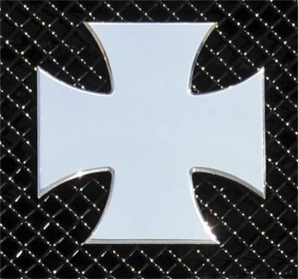 T-Rex Grilles - T-Rex Grilles 6700050 X-Metal Series Rebel Iron Cross Grille Badge