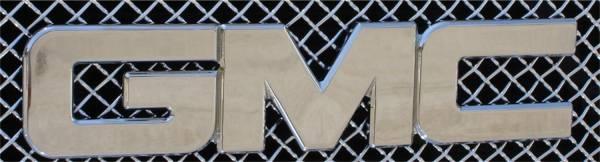 T-Rex Grilles - T-Rex Grilles 19200 Billet Bolt-On GMC Emblem