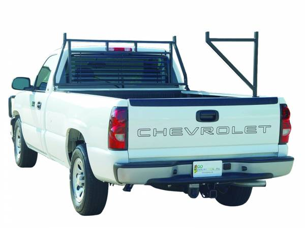 GO Industries - Go Industries 656-EXTB Black Ladder Rack/Carrier Ford F-150 (Except Heritage) (2004-2010)