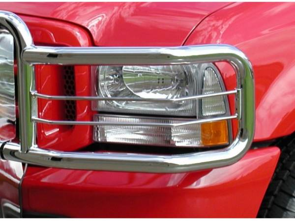 GO Industries - Go Industries 77108 Chrome Big Tex Headlight Guard Toyota Tundra 2007-2013