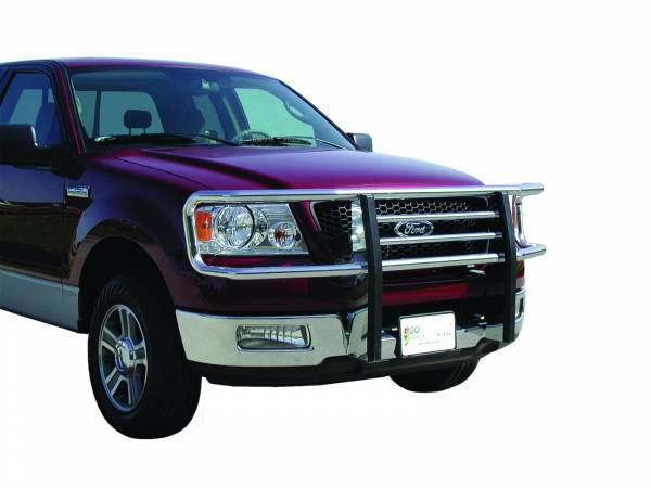 GO Industries - Go Industries 77636 Chrome Big Tex Grille Guard Ford F-150 (Except 2004 Heritage) (2004-2005)