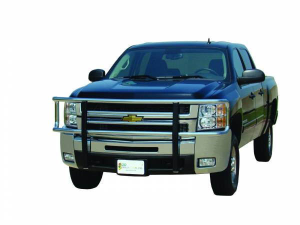 GO Industries - Go Industries 77735 Chrome Big Tex Grille Guard Chevy Silverado 1500  (2007-2010)