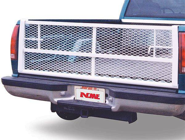 GO Industries - Go Industries 6624 Straight White Tailgate Dodge Ram 1500 2009-2013