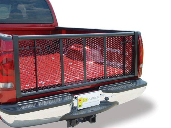 GO Industries - Go Industries 6624B Straight Black Tailgate Dodge Ram 1500 2009-2013