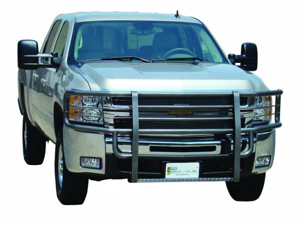 GO Industries - Go Industries 46629 Black Rancher Grille Guard GMC Sierra 2500HD/3500 2003-2006
