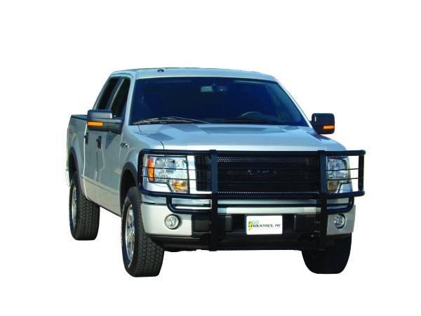 GO Industries - Go Industries 46638 Black Rancher Grille Guard Ford F-150 2004-2008 Not FX2, Harley or Heritage