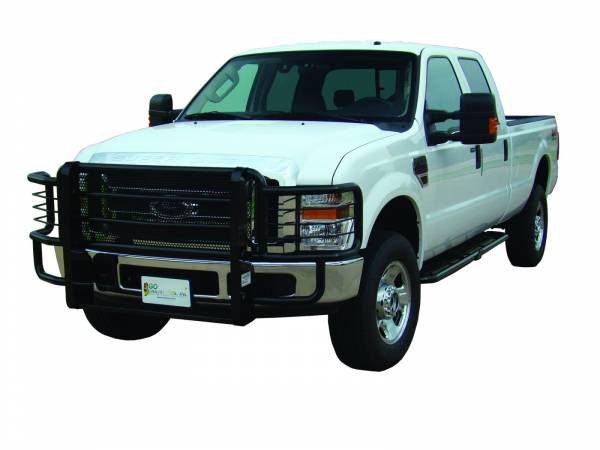 GO Industries - Go Industries 46642 Black Rancher Grille Guard Ford Super Duty F-250/F350 2008-2010