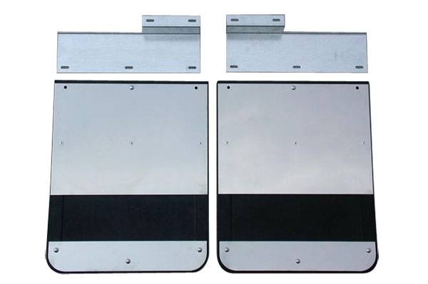GO Industries - Go Industries S70730SET Dually Mud Flaps Ford F250/F350 1999-2010