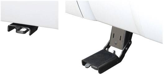 Luverne - Luverne 420826 Step Up Bracket Kit 2008-2012 Ford Super Duty 6.5' Box and 8' Box Including Dual Wheel Right Side