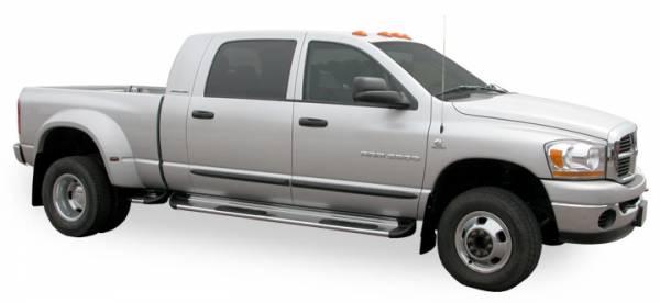 Luverne - Luverne 480533 Stainless Steel Running Boards Dodge Dakota Crew Cab 2005-2012