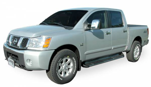 Luverne - Luverne 480463 Stainless Steel Running Boards Nissan Titan Crew Cab 2004-2012
