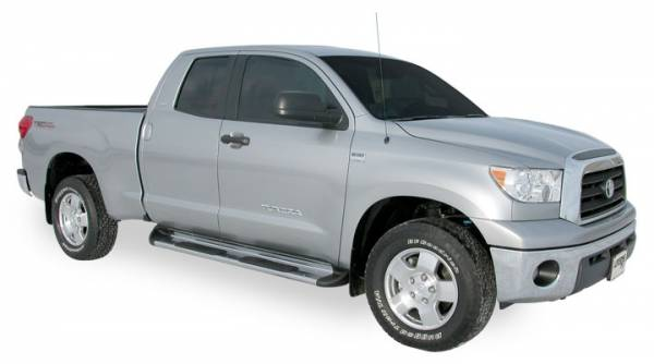 Luverne - Luverne 480753 Stainless Steel Running Boards Toyota Tundra Crew Max 2007-2013
