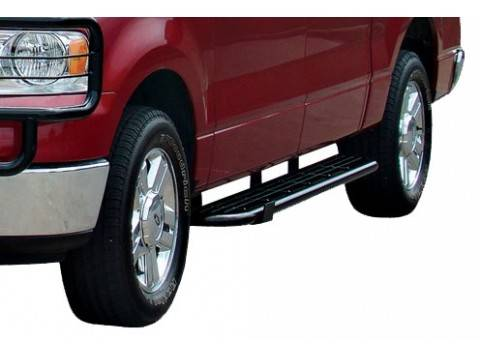 GO Industries - Go Industries 42364 Black Rancher Rugged Step Dodge Ram 2500/3500 Mega Cab (2010-2012)