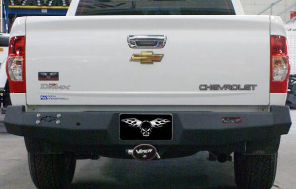 VPR 4x4 - VPR 4x4 PT-016 Rear Bumper Chevy D-Max 2005-2009