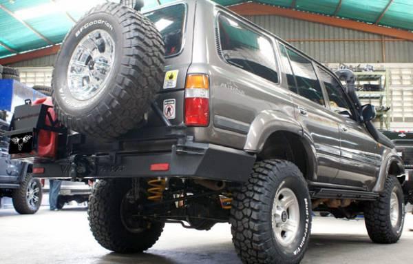 VPR 4x4 - VPR 4x4 PT-001 Rear Bumper Serie 80 Autana 1990-1997