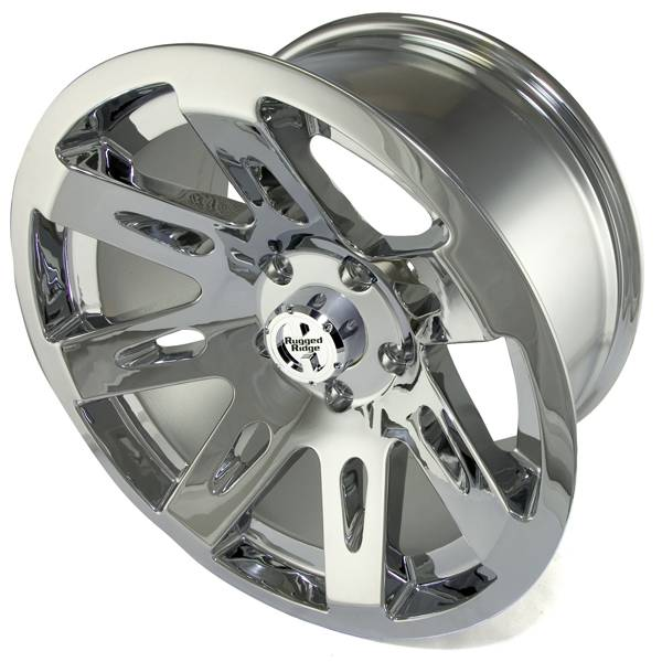 Rugged Ridge - Rugged Ridge 15301.20 Aluminum Wheel 17X9 Jeep Wrangler JK 2007-2010 Polished Chrome 12MM Offset 5 On 5