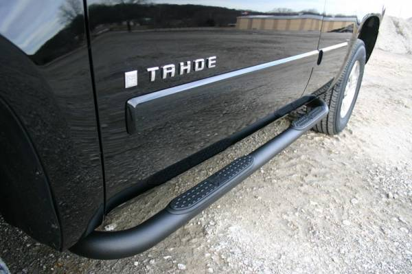 "Iron Cross - Iron Cross 51-552B Cab Length 3"" Tube Step Black Powdercoat Chevy/GMC Colorado/Canyon Ext Cab 2004-2013"