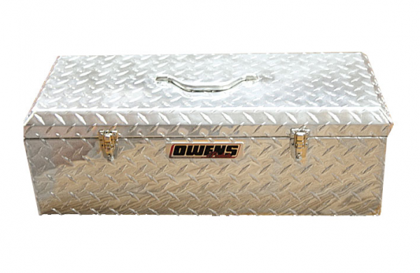 "Owens - Owens 44010 Garrison Tote Boxes 24"" Silver Tool Box"